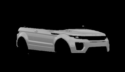 Цвета кузова Range Rover Evoque Convertible